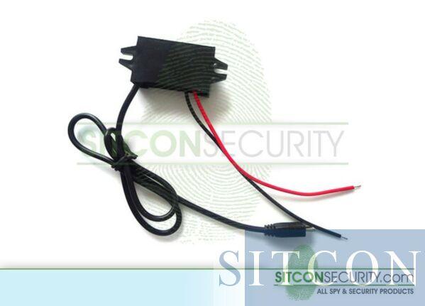 DC converter 12V to 5V 3A - Mini USB