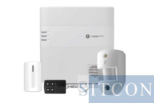 Draadloos alarmsysteem met PIR camera ELITE
