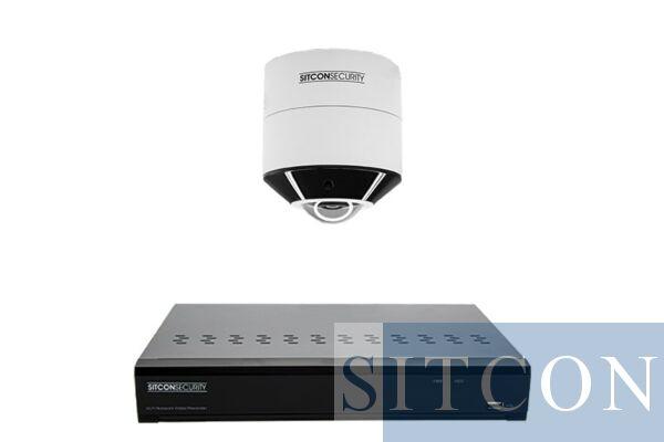 Fisheye 360º bewakingscamera set SMART 1