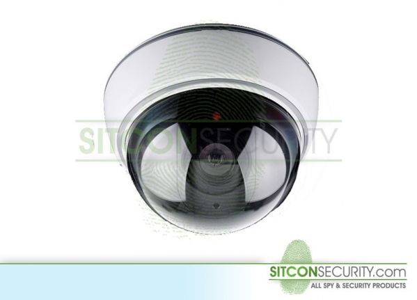 Vandalproof dummy dome camera