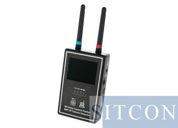 Draadloze + Wi-Fi camera detector PLUS