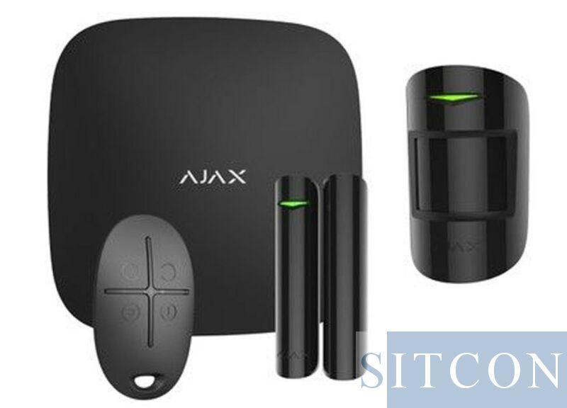 IP + GSM Alarmsysteem Zwart ELITE