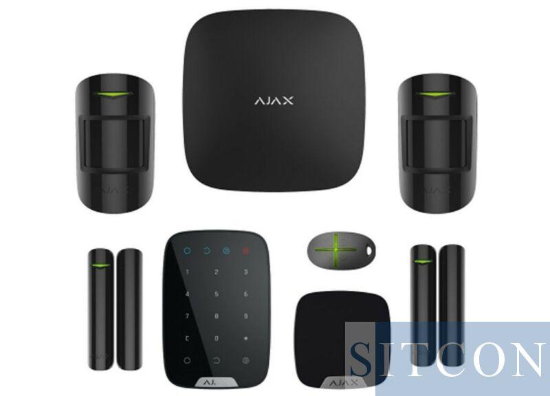 Draadloos alarmsysteem Deluxe Zwart SMART