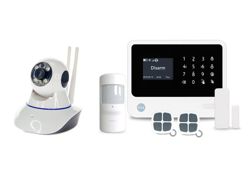 Alarmsysteem PRO + 1 IP PTZ camera