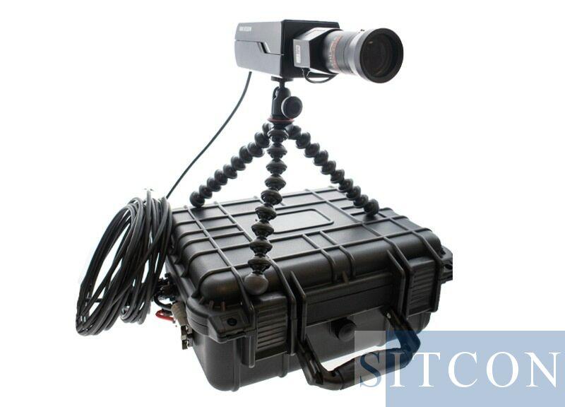 Mobiele camera set - Box + zoom lens